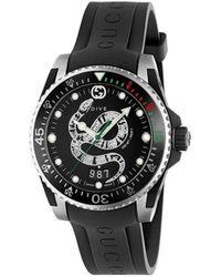 Gucci - グッチ ダイヴ 腕時計 - Lyst