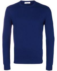 Cruciani - Cashmere Crew Neck Sweater - Lyst