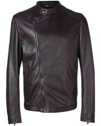 Dolce & Gabbana - Off-centre Zipped Jacket - Lyst