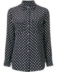 Equipment - Polka Dot Shirt - Lyst