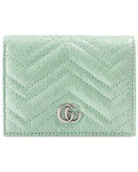 Gucci Кошелек GG Marmont - Зеленый