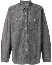 Engineered Garments - Asymmetric Pockets Shirt - Lyst