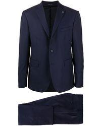 Tagliatore ツーピース スーツ - ブルー