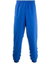 adidas スリム トラックパンツ - ブルー