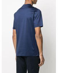 Canali ショートスリーブ Tシャツ - ブルー