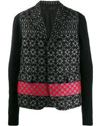 Haider Ackermann Embroidered Long-sleeve Cardigan - Black