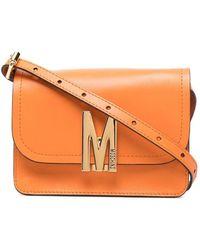 Moschino Сумка Через Плечо С Логотипом M - Оранжевый
