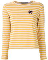 EVA Striped Long Sleeve T-shirt - Multicolour