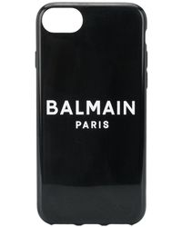 Balmain ロゴ Iphone 6/7/8 ケース - ブラック