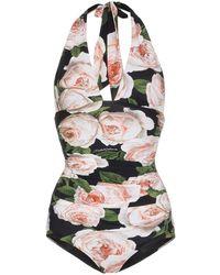 Dolce & Gabbana Costume intero Rose - Multicolore