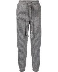 Alanui Paso Del Icalma Track Pants - Grey