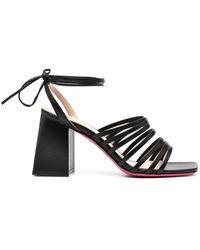 Dee Ocleppo Strapped Block-heel Sandals - Black
