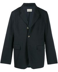 Holland & Holland Long Blazer Jacket - Blue