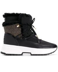 MICHAEL Michael Kors Lace-up Ankle Boots - Black