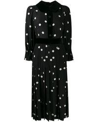 Dolce & Gabbana - ポルカドット プリーツドレス - Lyst