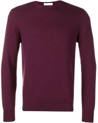Cruciani - Long-sleeve Fitted Sweater - Lyst