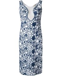 Martha Medeiros - Floral Lace Raissa Dress - Lyst