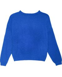 Apparis スリムフィット セーター - ブルー