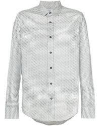 Dirk Bikkembergs | Classic Pattern Shirt | Lyst
