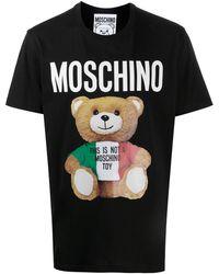 Moschino Футболка С Логотипом - Черный