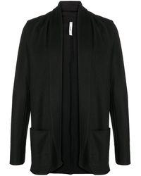 Attachment Shawl-collar Blazer - Black