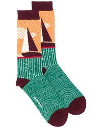 Henrik Vibskov - Sail Long Socks - Lyst