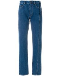 Y. Project - Reconstructed Straight Leg Jeans - Lyst