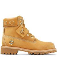 Jimmy Choo Ботинки X Timberland С Логотипом - Желтый
