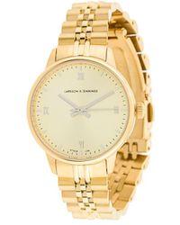 Larsson & Jennings ラウンド ブレスレット腕時計 - メタリック