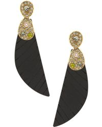 Camila Klein - Long Tucan Earrings - Lyst