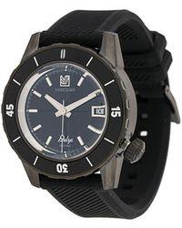 March LA.B 'Belza Automatic' Armbanduhr, 40mm - Blau