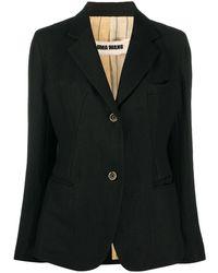 Uma Wang シングルジャケット - ブラック