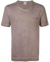 Massimo Alba - Round Neck T-shirt - Lyst