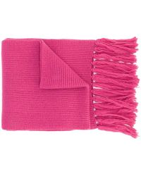 AMI Шарф С Логотипом - Розовый