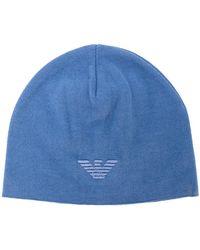 Shop Men s Emporio Armani Hats Online Sale b91ffbcdc2ac