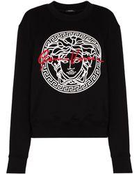 Versace - メデューサ Gv スウェットシャツ - Lyst