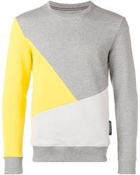 Woolrich カラーブロック スウェットシャツ - マルチカラー
