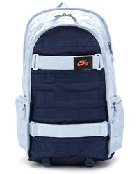 Nike Sb Rpm Logo Patch Backpack - Blue