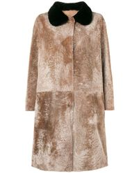 Sofie D'Hoore - Long Fur Coat - Lyst