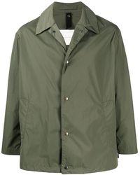 Mackintosh Teeming シャツジャケット - グリーン