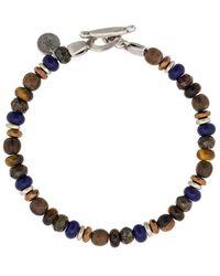 Eleventy Bracciale con perline - Multicolore