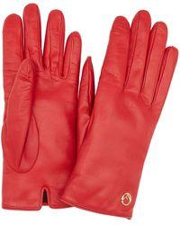 Fendi F Is Gloves - Red