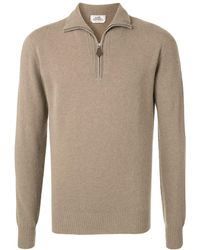 Hermès Pre-owned High-neck Long Sleeve Sweater - Brown