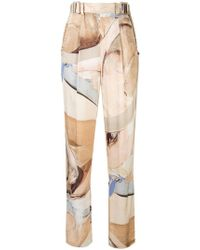 Aje. - Chiltern Satin Trousers - Lyst