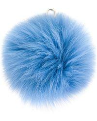 Furla - Bubble Pom Pom Key Ring - Lyst