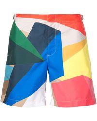 Orlebar Brown Bañador Prism de x Rob Wyn Yates - Multicolor