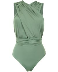 Brigitte Bardot - Ruched Talita Swimsuit - Lyst