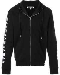 McQ - Embroidered Hoodie - Lyst
