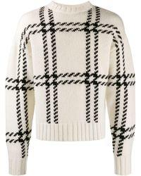 AMI チェック セーター - マルチカラー