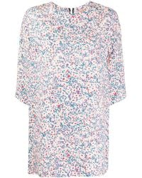 N°21 Floral Print Tunic - Pink